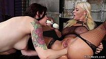 Lesbian anal fisting mix