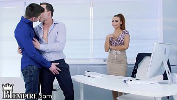 BiEmpire Ornella Morgan Wants To Join in Hot Office Guys Fucking! 10 min