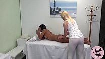 Horny ts massage turns into hard anal