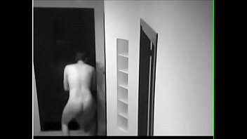 Guy gets his towel stolen while locked out naked