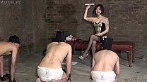 Japanese Femdom Dominatrix Sherry and Her Three Slaves