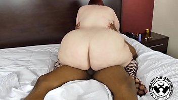 Thick PAWG BBW Fucks A Long Black Cock 7 min