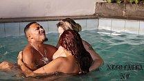 Levei duas gostosas para minha piscina - Melissa Devassa - Rafaella Denardin - Nego Catra