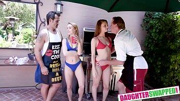 Nathalie Knight , Jaycee Starr In Summer Swap And Smash