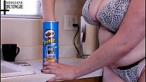 Tiny Man in Pringles Can Vore Giantess 7 min
