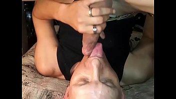Suck8ng my own cock