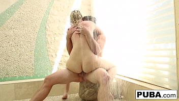 Bubbly Samantha Rone gets her share of man meat from Van