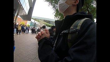 Chinese women attack Hong Kong student 96 sec