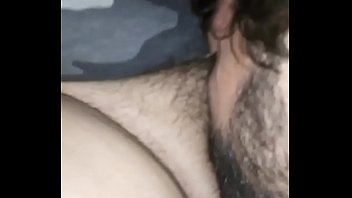 Letting her ex lover taste her pussy again she stays horny
