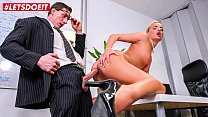 LETSDOEIT - With This Blondie A Deal Can Be Sealed Only One Way - Victoria Pure