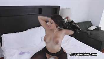 Juicy PAWG oiled and fucked hard by a bwc