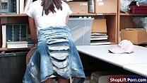 Store security fucks boss teen daughter
