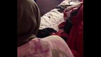 Marokkaanse Hoofddoek Neukt Doggystyle