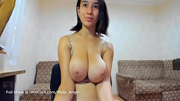 The Sweet Nerdy Girl Next Door With the Huge Hangings Tits Has A Secret