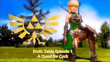 Legend of Zelda Parody - Trap Link's Quest for Cock