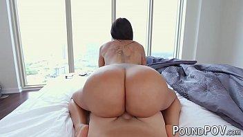 Huge bubble butt girl Lela Star destroyed in POV 5 min
