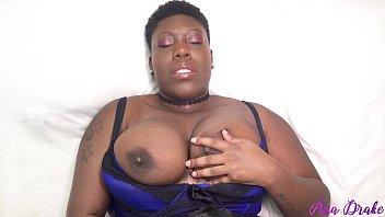 Sexy Ebony BBW Playing With Pussy 6 min