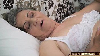 the chubby hairy granny needs a good fuck