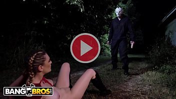 BANGBROS - Kara Lee Encounters Scary Villain In The Woods