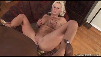 Big Tit Blonde MILF Interracial Fuck