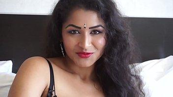 Desi Dhabi wears Short dress to please you - Maya