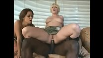 Two slutty army chicks have a threesome to remember in their living room 27 min