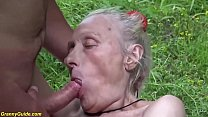 extreme ugly 86 years old mom first b. public fuck