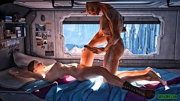 Alien Invasion. SciFi 3D Hentai