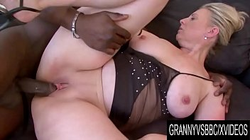 Granny Vs BBC - Mature Nicol Gets Plowed by Her Black Lover 8 min