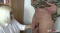 AgedLovE Sexologist Helping Former Soldier Hard 6 min