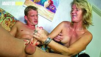 AMATEUR EURO - Amazing Sex With German Granny Diana D. And Jungle