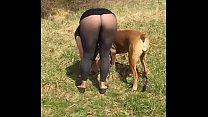 Outdoor Flashing - Pantyhose Pants