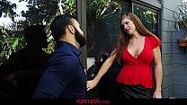 Karups -  Busty Redhead MILF Ivy Secret Fucks Her Estranged Husband