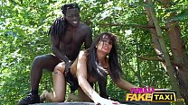 Female Fake Taxi Horny driver Princess Jas is hungry for black cock