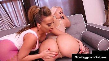 Big Booty Babes Nina Kayy & Richelle Ryan Grind That Pussy!