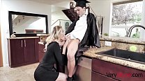 Blonde Mom Gives Son His Graduation gift- Kenzie Taylor