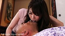 The daughter-in-law takes care of her sick father-in-law and is fucked