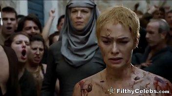 Lena Headey Nude Walk Of Shame In Game Of Thrones