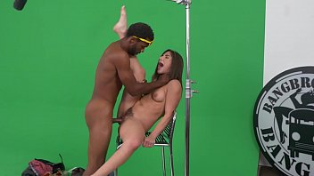 BANGBROS - Abella Danger Struggles To Film A Promo & The Director Gets Mad