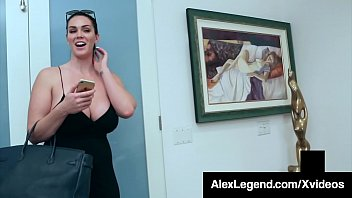 Big Boobed Brunette Alison Tyler Dicked By Fat Cock Legend! 10 min