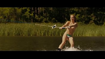 Friday the 13th (2009):  Sexy Topless Water Skier