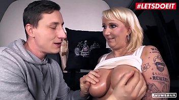 LETSDOEIT - German Hot BBW MILF Kitty Wilder Takes Hard Cock On The Bang Bus
