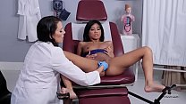 HUSTLER Lesbian MILF Doctors With Ember Snow and Reagan Foxx