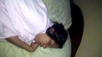 Nica con sueño