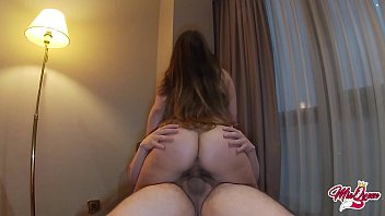 riding my cousin's cock after new year party ( CREAMPIE )