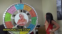 Porn Superstar Adriana Chechik in a Crazy Game Show!