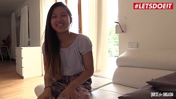 LETSDOEIT - The Thrill Of The Chasing Orgasm With Hot Asian Teen May Thai 11 min