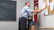 InnocentHigh Teacher fucks smalltits blonde teen
