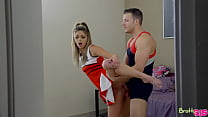 BrattySis] Athena Faris - Cheer Practice