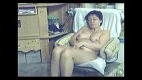 My mum home alone caught masturbating by my hidden cam